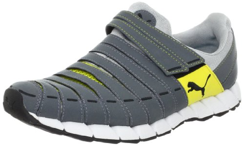 PUMA Men's Osu NM Running Shoe,Dark Grey/Yellow/Grey/Black,10.5 D US