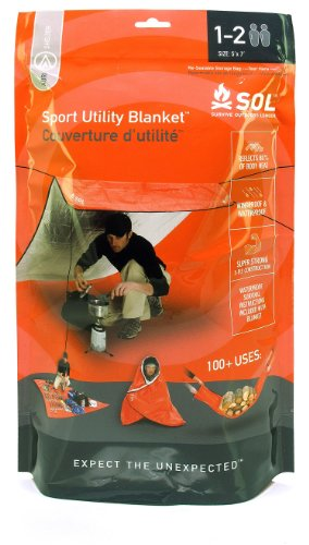 Adventure Medical Kits Survive Outdoors Longer Sport Utility Blanket, 6.9 Ounce