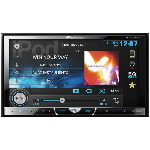 Pioneer AVH-X5500BHS Multimedia DVD Receiver with 7