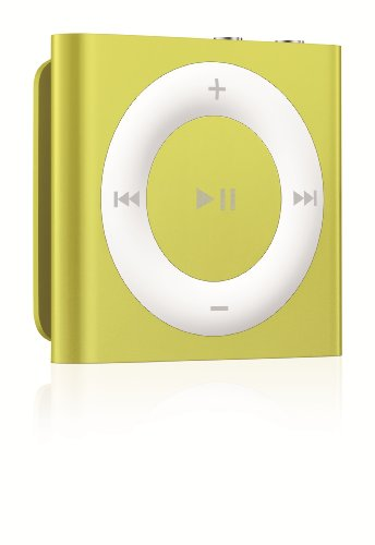 Apple iPod shuffle 2GB Yellow (5th Generation) NEWEST MODEL