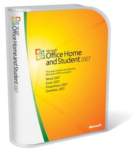 Microsoft Office Home and Student 2007 [Old Version]