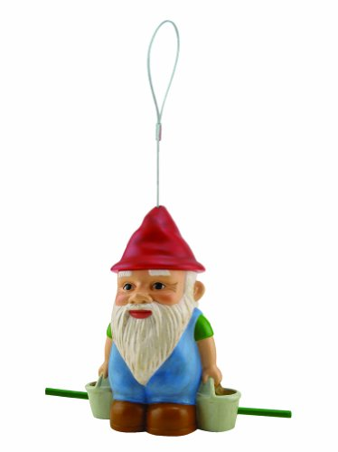 Cherry Valley Feeder Gnome Bird Seed Feeder