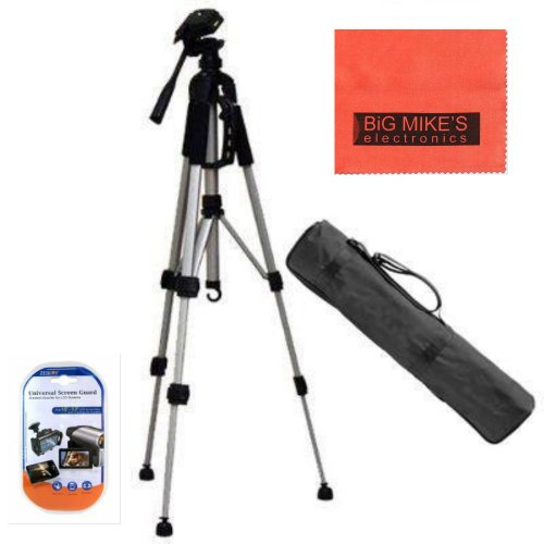 Lightweight 57-inch Professional Camera Tripod For various Sony Handycam Camcorders