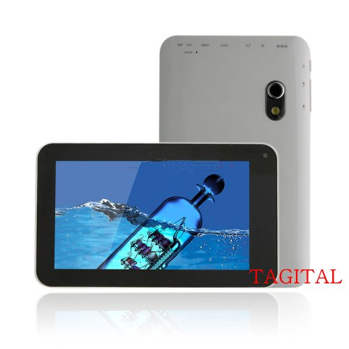 Tagital (TM) 7 Inch Dual Core Tablet PC Android 4.2 Allwinner A20 1.2Ghz Dual Camera
