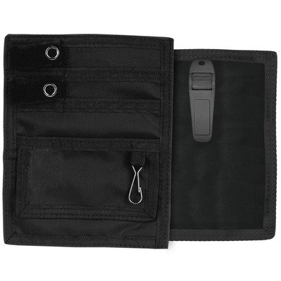 Nurse- Medical Belt Clip Pocket Pal Organizer-Black